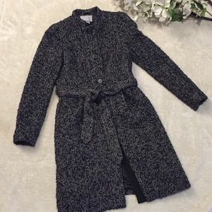 Black and grey H&M coat